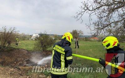 Einsatz 8, 13.04.2020 – Brandeinsatz / Flurbrand klein