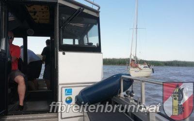 Einsatz 35, 30.06.2021 – Bootseinsatz / Bootsbergung